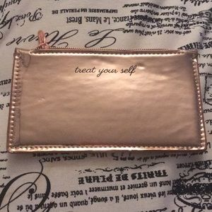 New Treat Yourself rose gold wallet